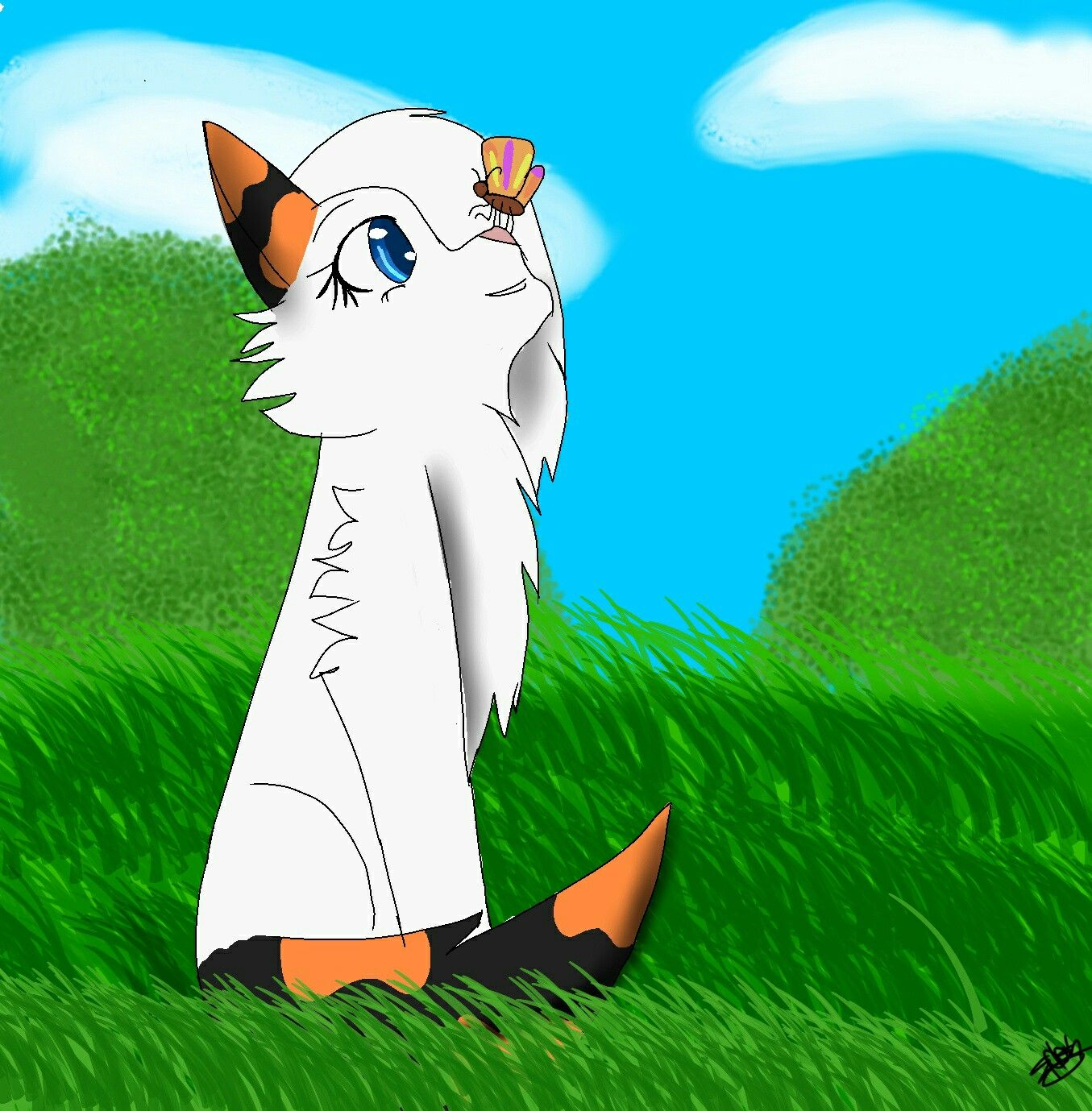 A picture for the talented Meowgical Old art, Art, Art