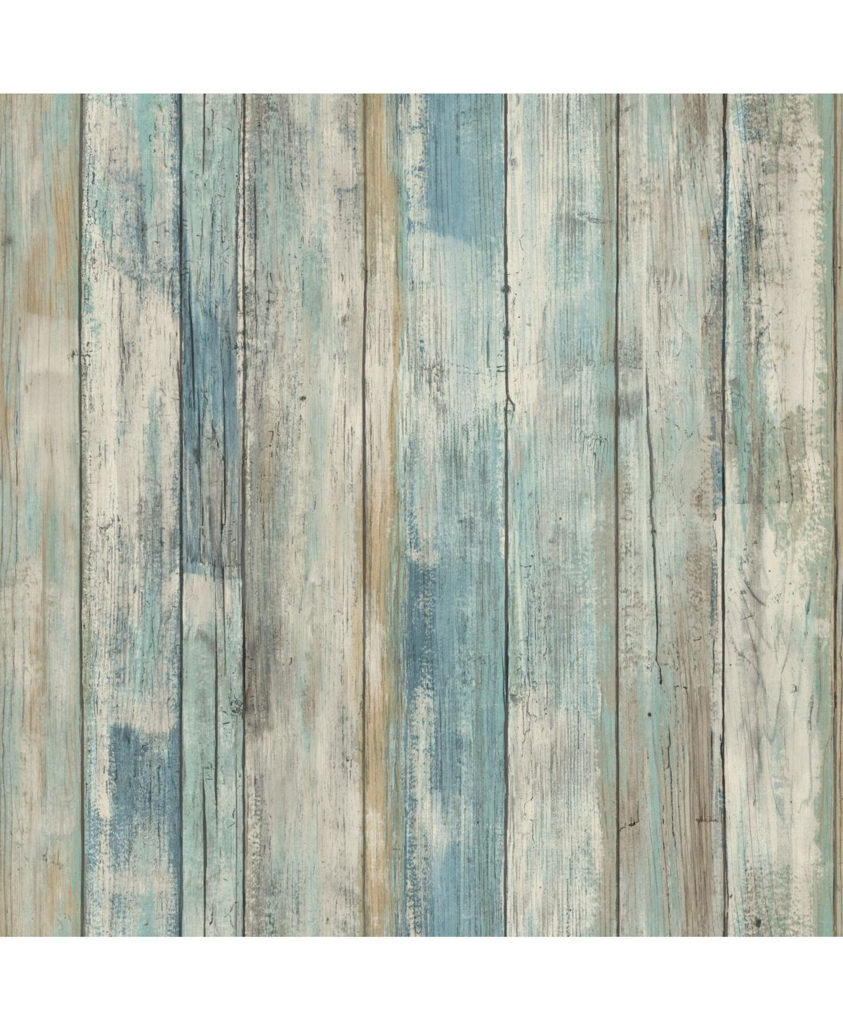 York Wallcoverings Blue Distressed Wood Peel And Stick Wallpaper Reviews All Wall Decor Home Decor Macy S In 2021 Painting Wood Paneling Wood Paneling How To Distress Wood