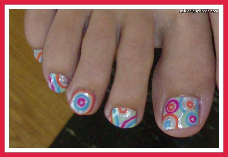 Do It Yourself Nail Designs: Fingernail And Toenail Designs For Kids