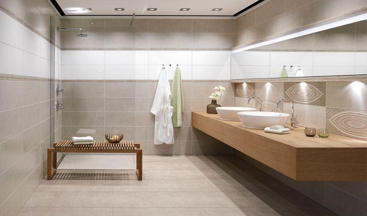 Ceramic tile series PASADO by AGROB BUCHTAL - Interior design by - die schönsten badezimmer