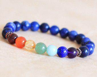 Buddhist Prayer Bead Bracelet Spiritual Bracelet by MishkaSamuel