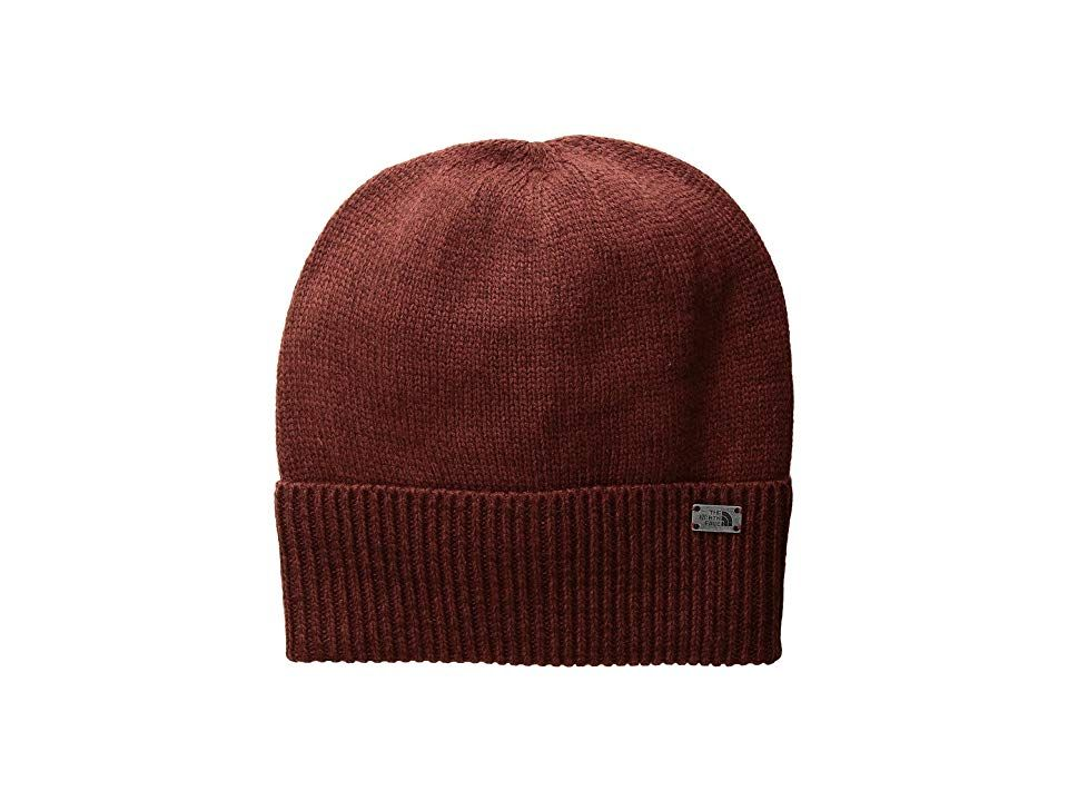 42e467b4 The North Face TNF Cuffed Beanie (Barolo Red/Sequoia Red (Prior Season))  Beanies. Get the perfect look with the casual TNF Cuffed Beanie.