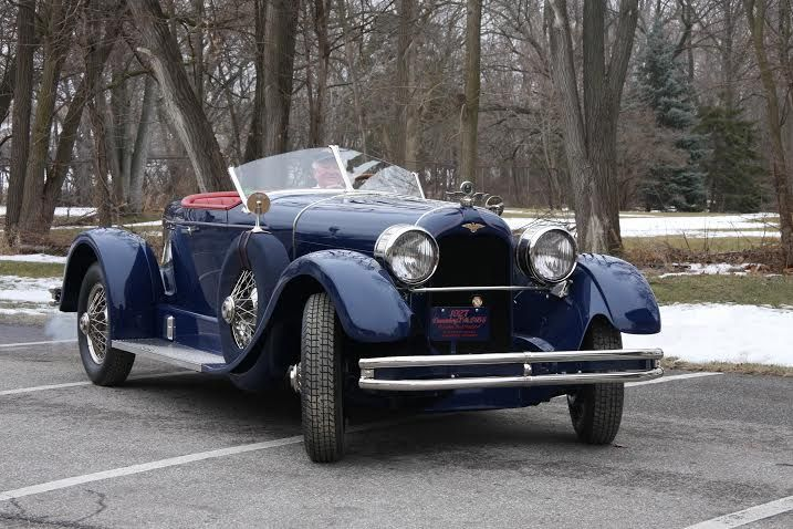 Rare Duesenberg Is Car Of The Month In Acd Series Classiccars