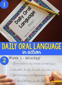 Daily Oral Language (DOL) Book 1: Aligned to the 2nd Grade