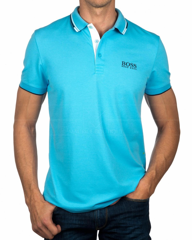 da0b3e87f41 Hugo Boss Polo Shirt Paddy Pro - Open Blue in 2019 | 電腦領 | Polo ...