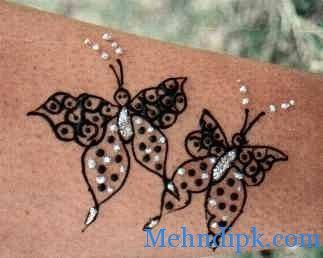 Mehndi Henna Butterfly : Mehndi hand designs and