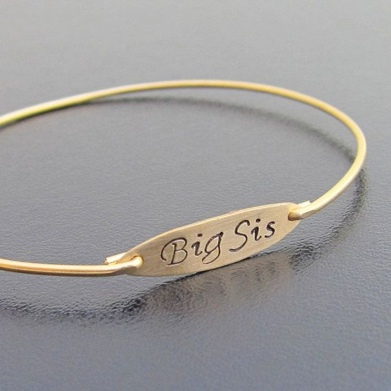 Custom Hand Stamped Bracelet Sis 3 Sisters Set Is Here Http Www Etsy Listing 256112640 Sister Bracelets For Personalized 2