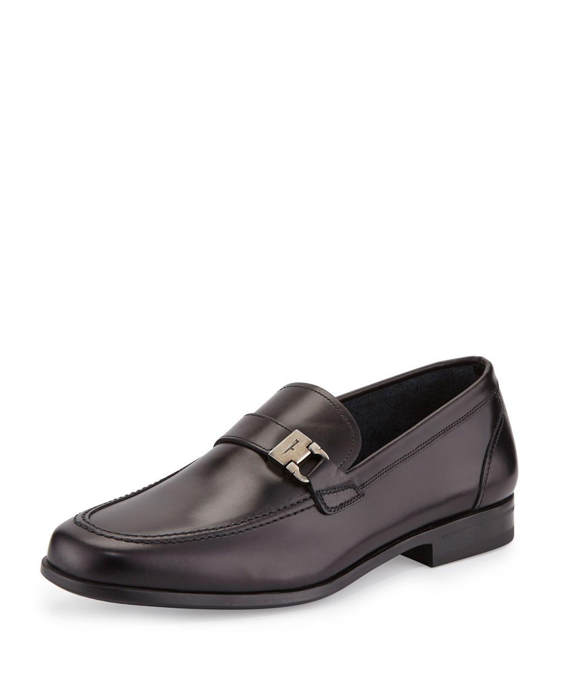 side buckle oxford shoes - Black Salvatore Ferragamo Q4rwq4fp1q