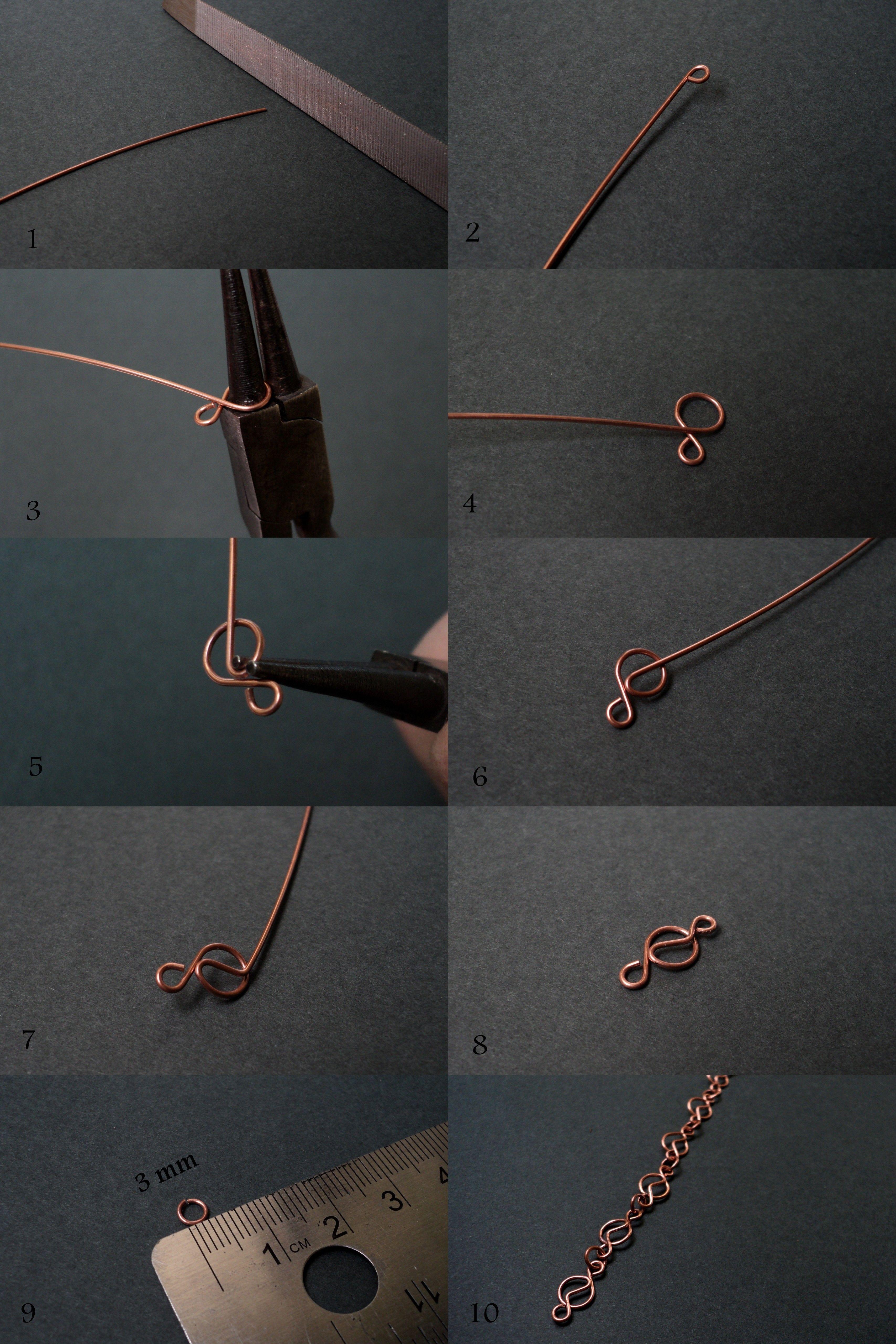 Tutorial cadena sin soldadura con diseo jewelry how tos fradany tutorial chain seamless with design baditri Choice Image