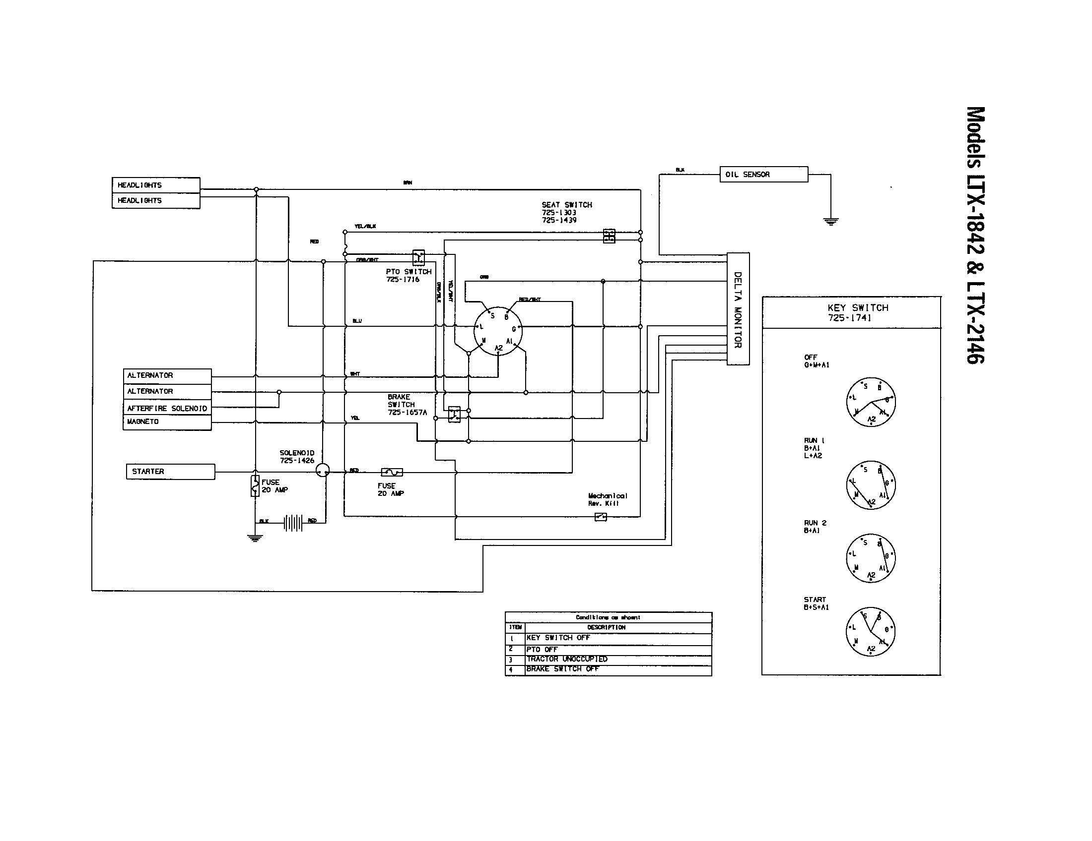 Craftsman Model 917 Wiring Diagram Elegant In 2020 Riding Mower Diagram Electrical Diagram