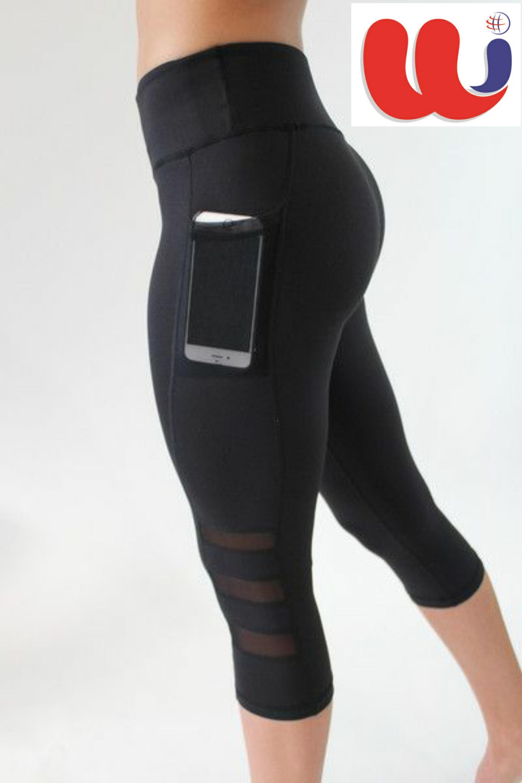 b64ddb821d783 Custom Running Leggings - 3 quarter - Phone holder | Women ...