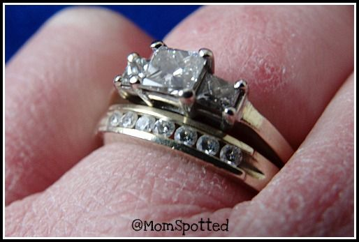 how to wear engagement ring and wedding band together 15 - How Do You Wear Your Wedding Rings