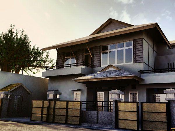 27 Elegant Exterior House Color Ideas Slodive Japanese Style House Japanese Home Design Exterior House Colors