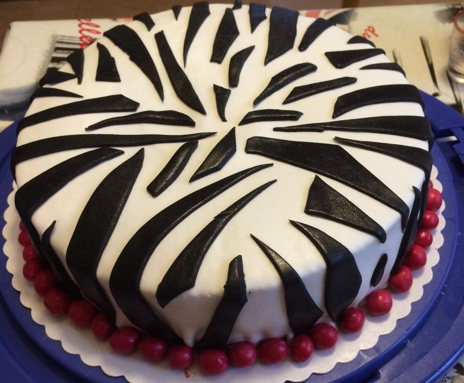 Zebra kuchen backen