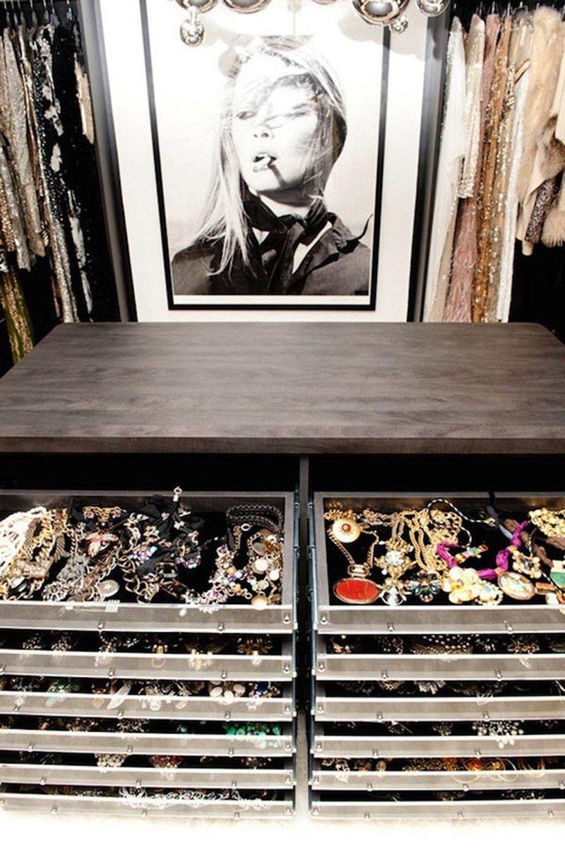 Storage ideas awesome jewelry organization Genius