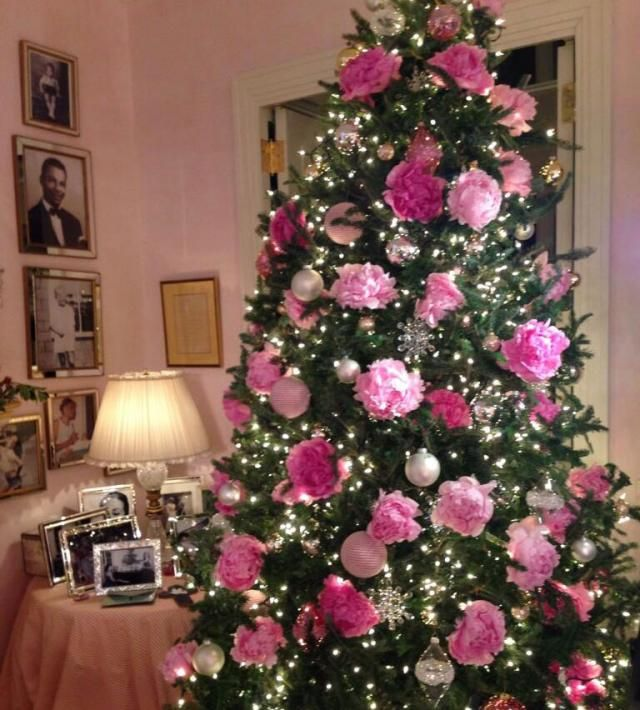 Rosa Weihnachtsbaum.Ein Unikat In Ihrem Wohnzimmer Mariah Carey In A Winter
