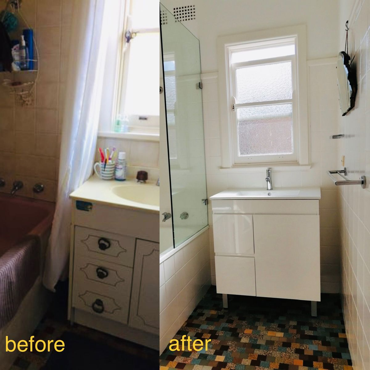 Before and after | Renovation company, Bathroom renovation ...