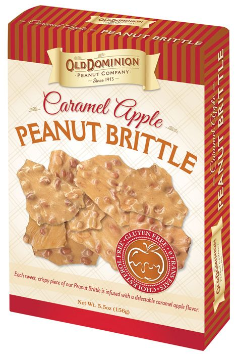 Caramel Apple Peanut Brittle from Old Dominion Peanut