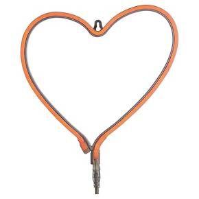 $49.99 Heart LED Neon Amber Light - Oh Joy!   Target
