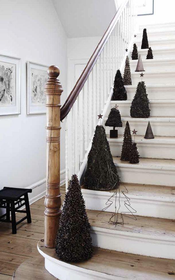 Weihnachtsdeko Furs Treppenhaus Weihnachten Otto Pinterest