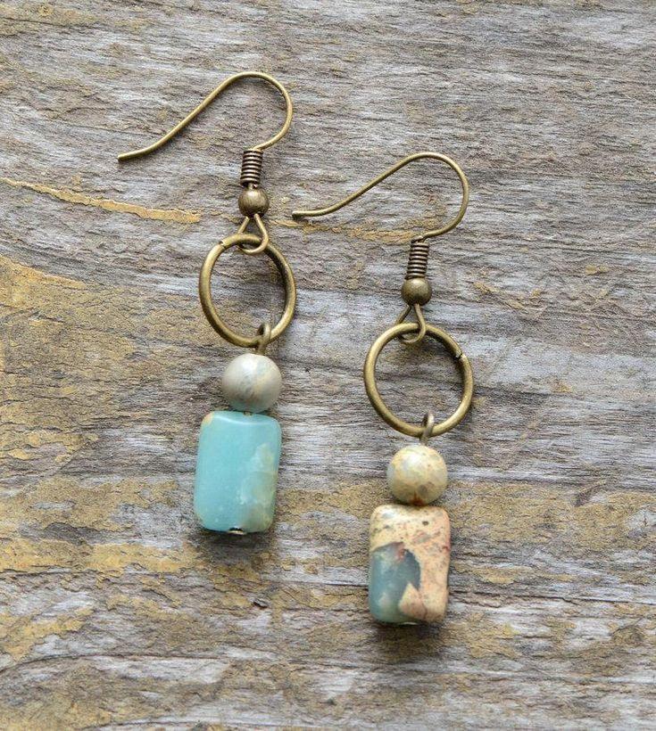 Photo of Dangle stone earrings