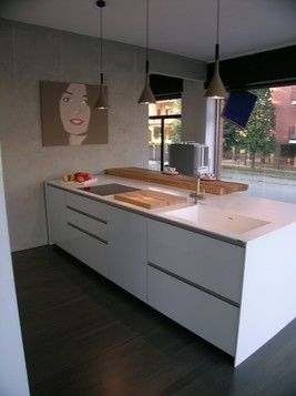 cucina Icon Ernestomeda - piano in corian | corian | Pinterest ...