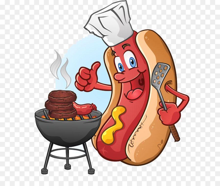 Do Barbecue Cartoon Hot Dog Hot Dogs Cartoon Cartoon Dog