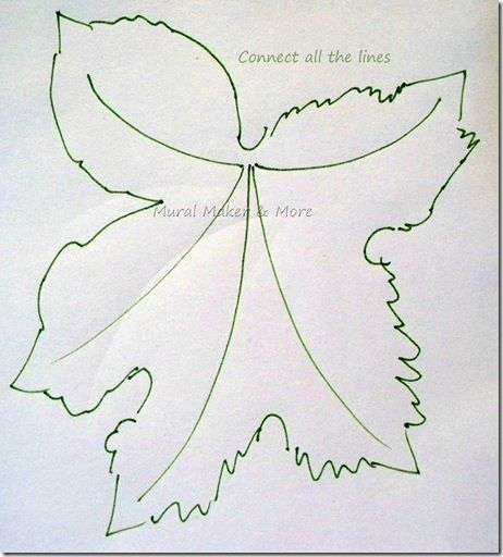 Just Paint It How To Paint Grapes And Grape Leaves Grape Painting Leaf Template Leaf Drawing