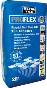 Proflex Sp Flexible Tile Adhesive Single Bags White Mosaik