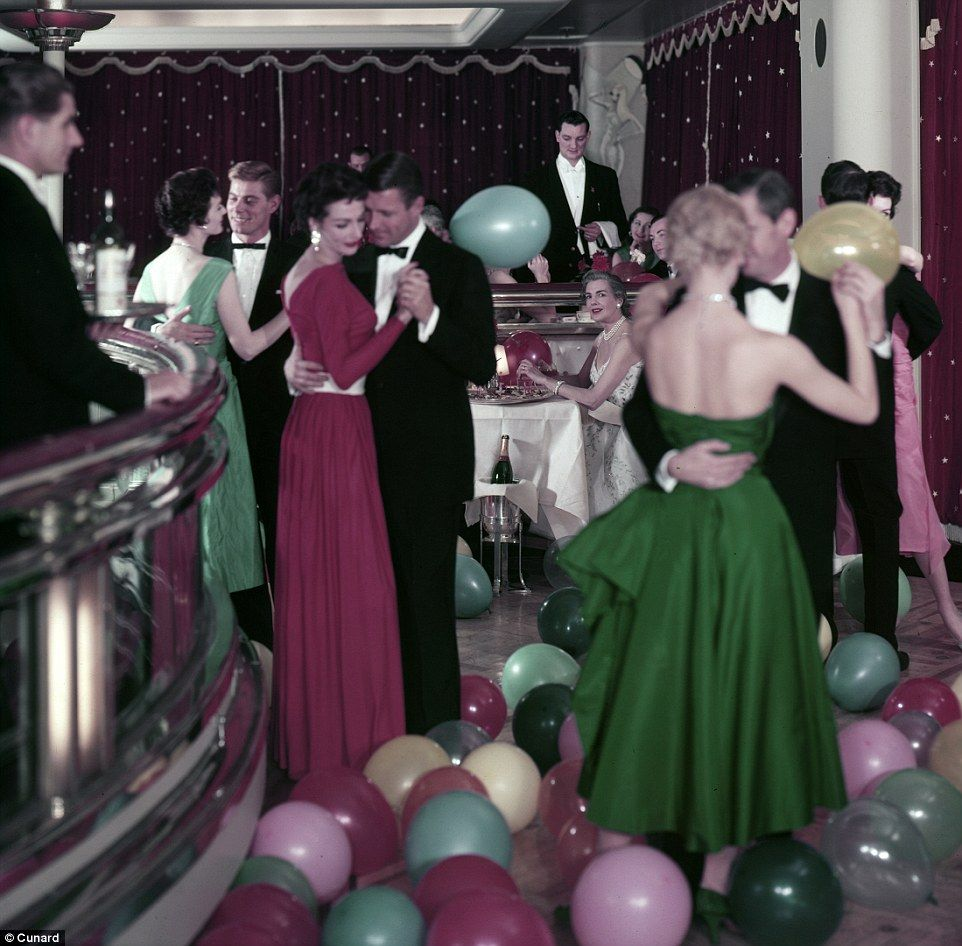Cunard's photo archive reveals glamorous life on board