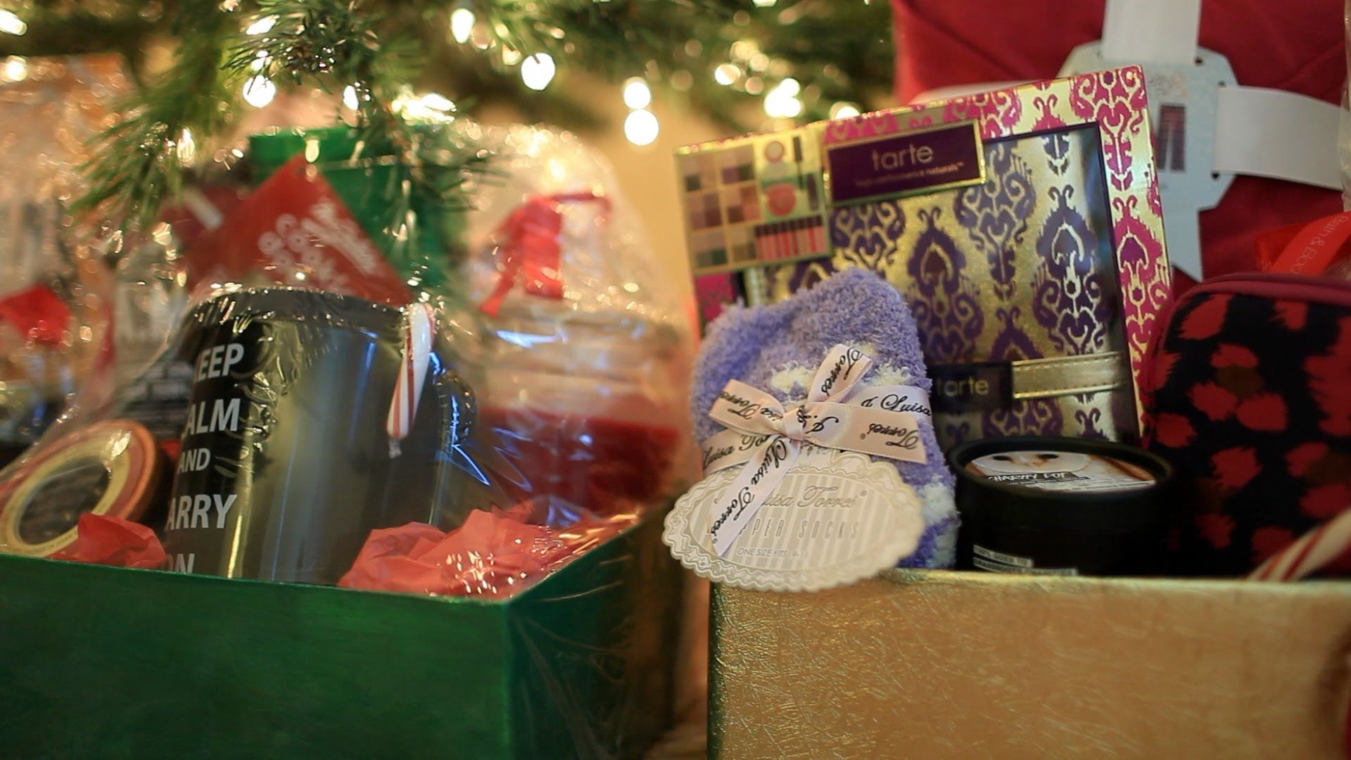 Make Gift Package Baskets Box How to DIY