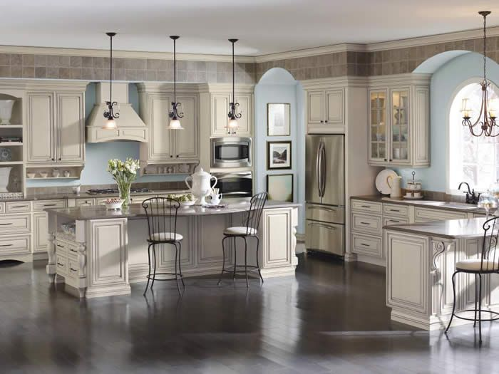 try this elegant kitchen with cabinets by diamond cabinetry selena