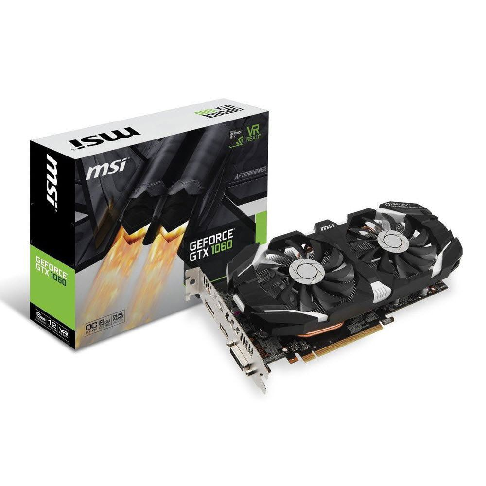 Msi Geforce Gtx 1060 Oc Windstorm 6gb Gddr5 Video Graphics Card