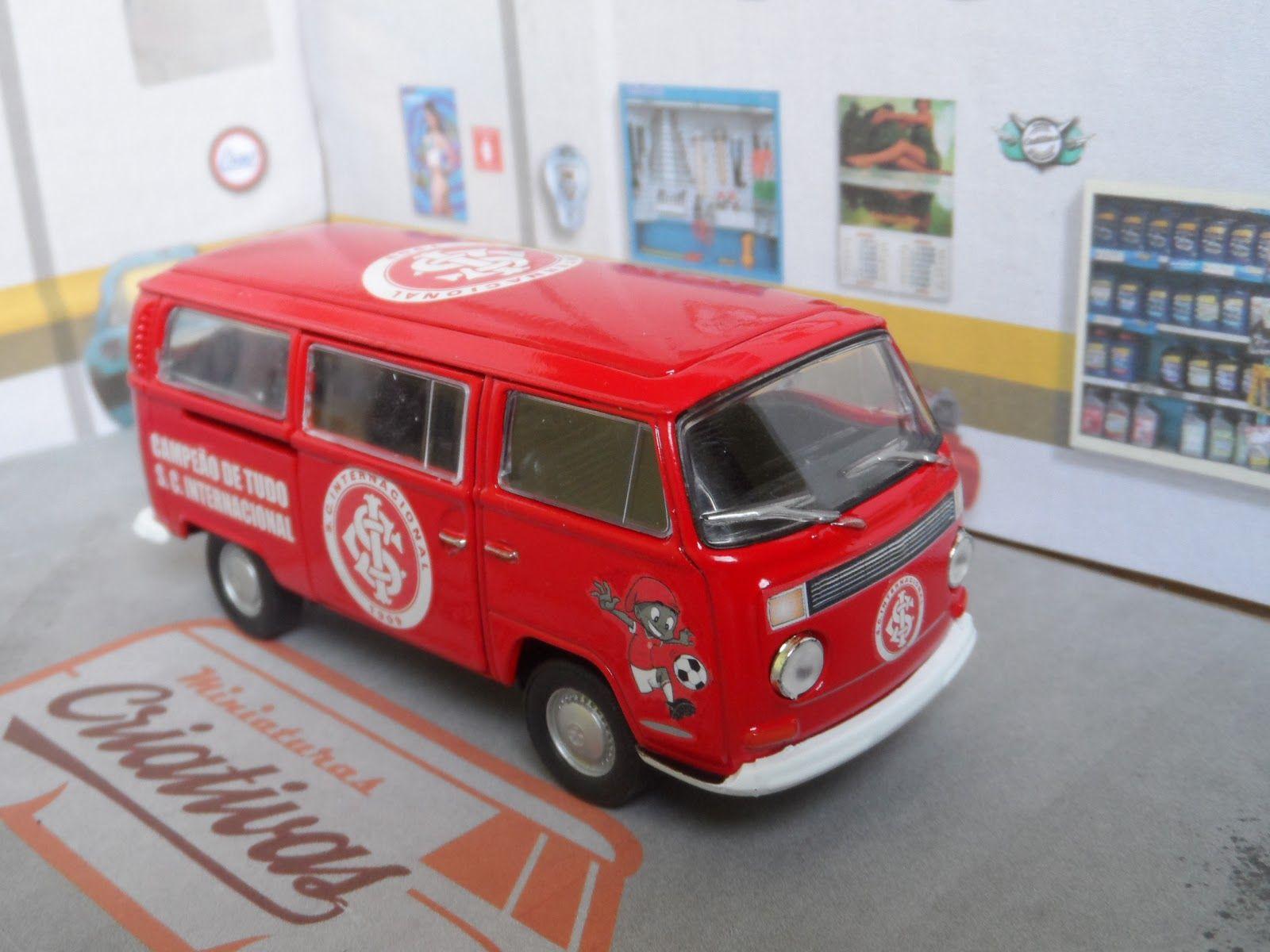 Kombi Internacional De Porto Alegre Miniaturascriativas Carritos