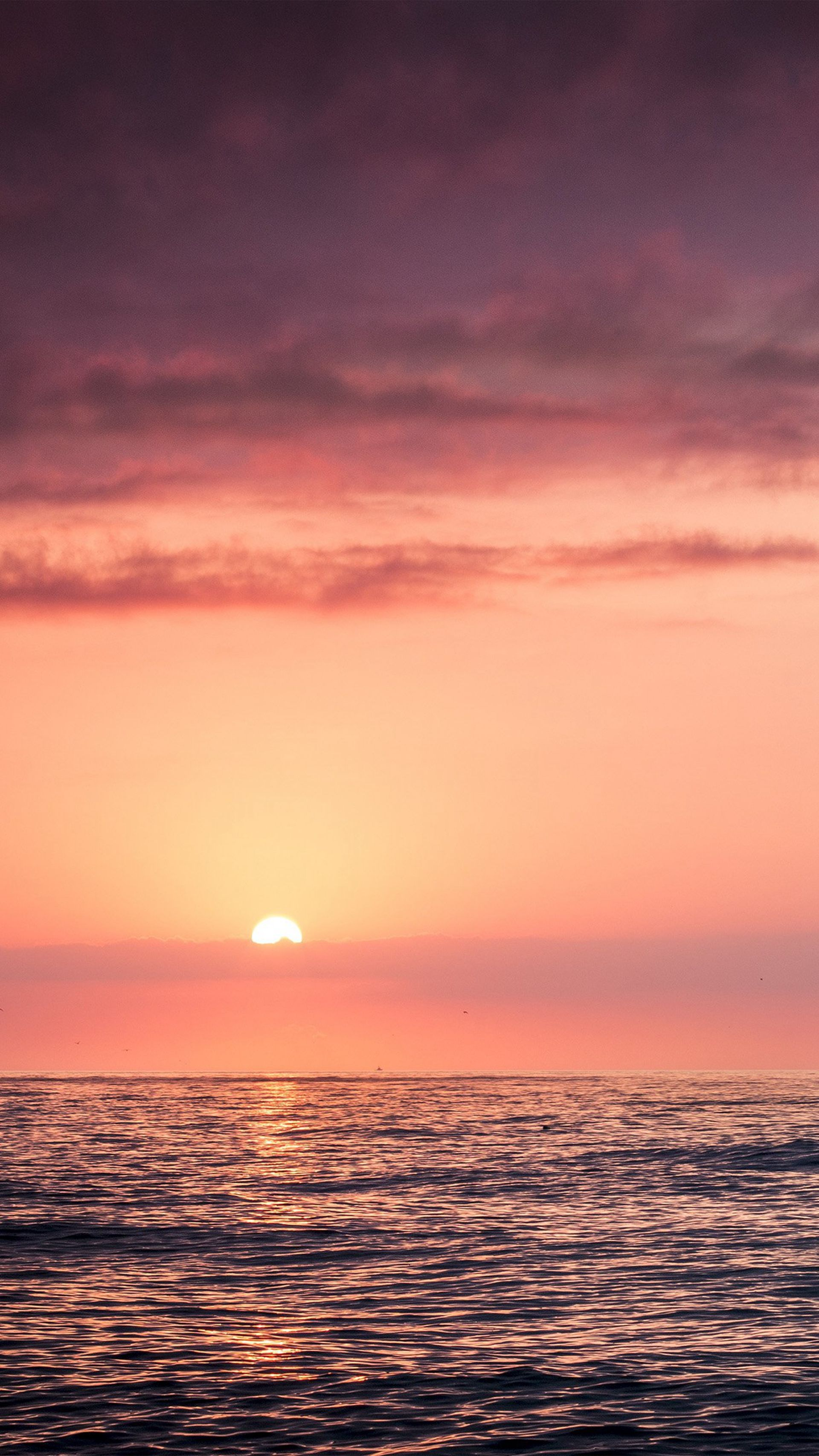 Sunset Sea Beach Sky Red iPhone 6 plus wallpaper (With