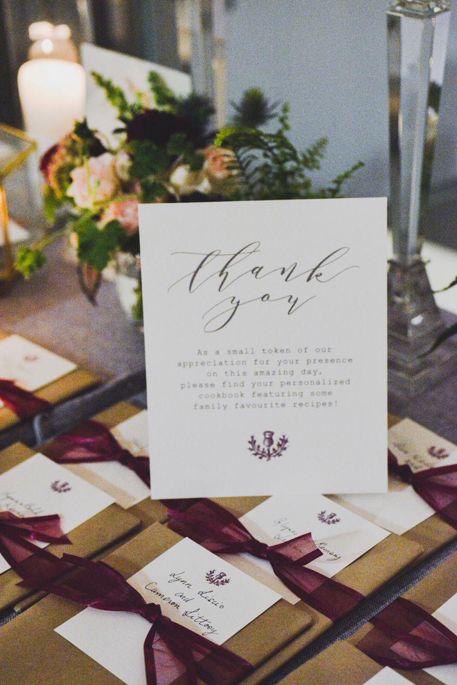 Handcrafted Cookbook Wedding Favors   Wedding   Pinterest   Favors ...
