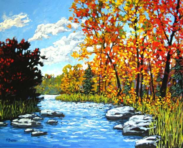 Another beautiful painting by patty baker original and for Pretty acrylic paintings