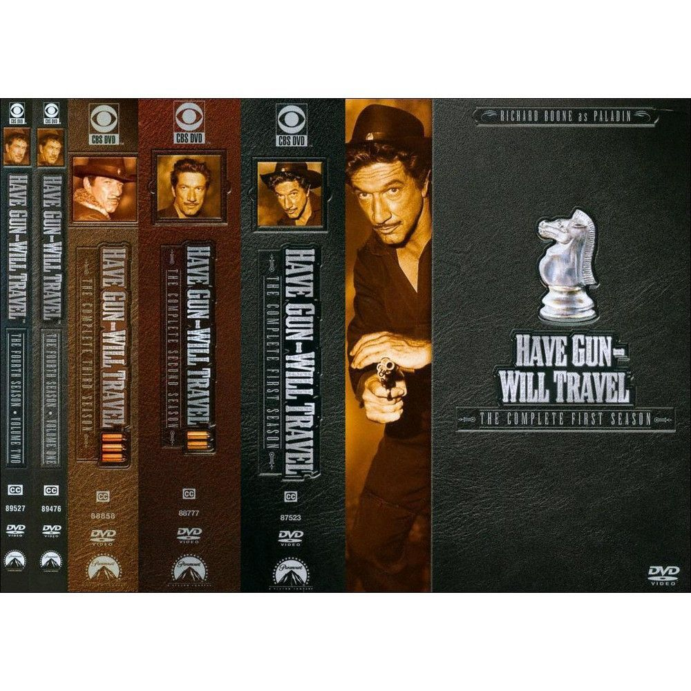 Have Gun, Will Travel: Seasons 1-4 (25 Discs)