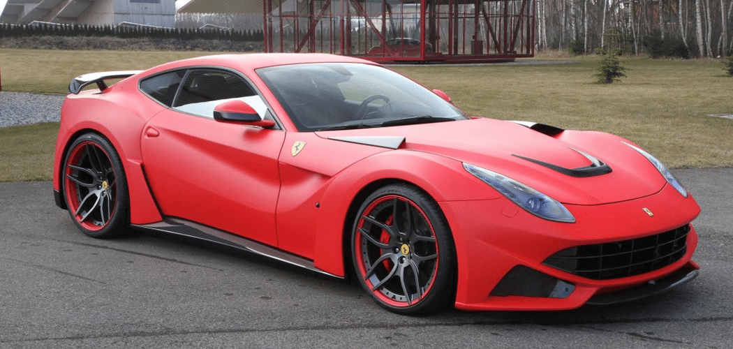 Novitec Rosso Ferrari F12 N Largo Matte Red Autofluence Ferrari F12 Ferrari Super Cars