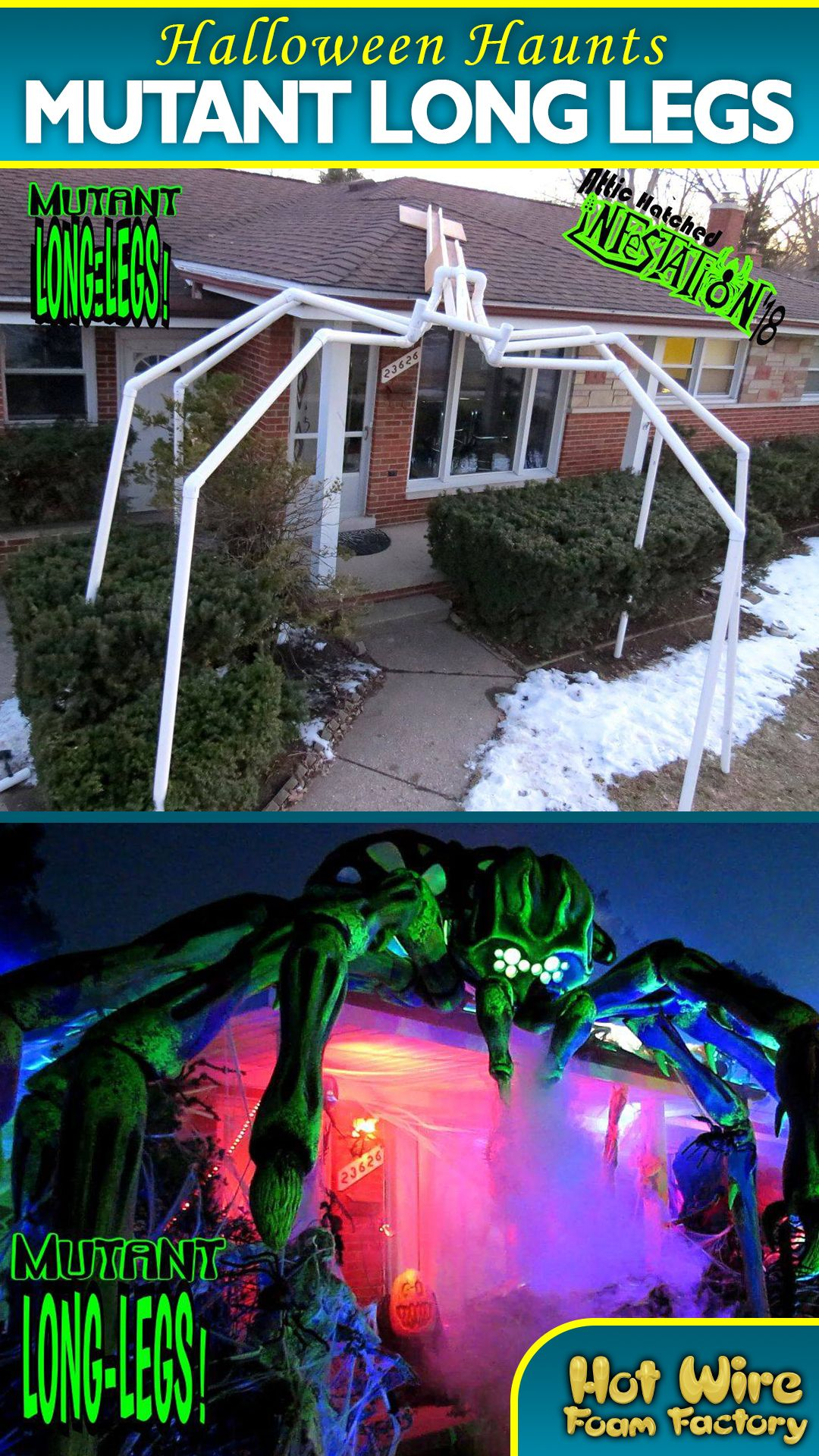 Pin On Haunt Props And Decor Diy backyard haunted house