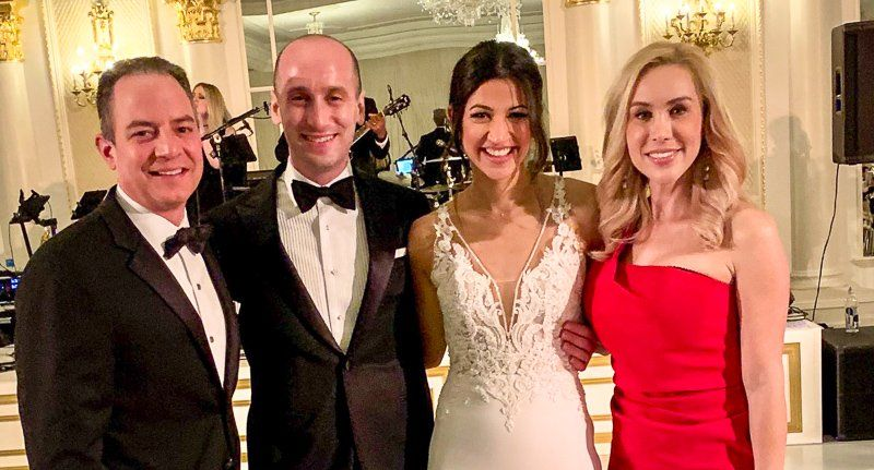 White House Adviser Stephen Miller Was Married Over The Weekend But Instead Of Congratulations The Nuptials Were Roundly M In 2020 Wedding Night Wedding Katie Miller