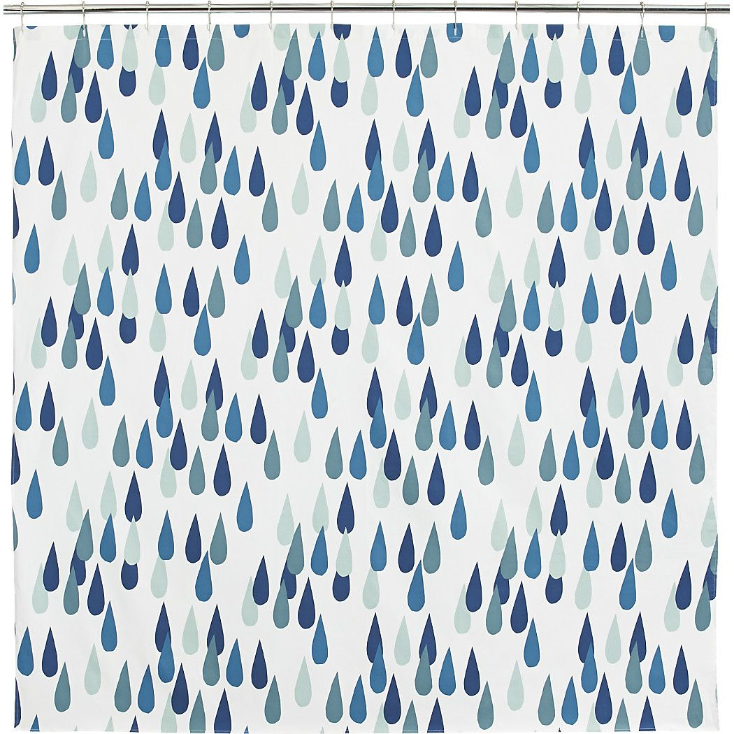 Shop Marimekko Iso Pisaroi Shower Curtain Oversized Raindrops