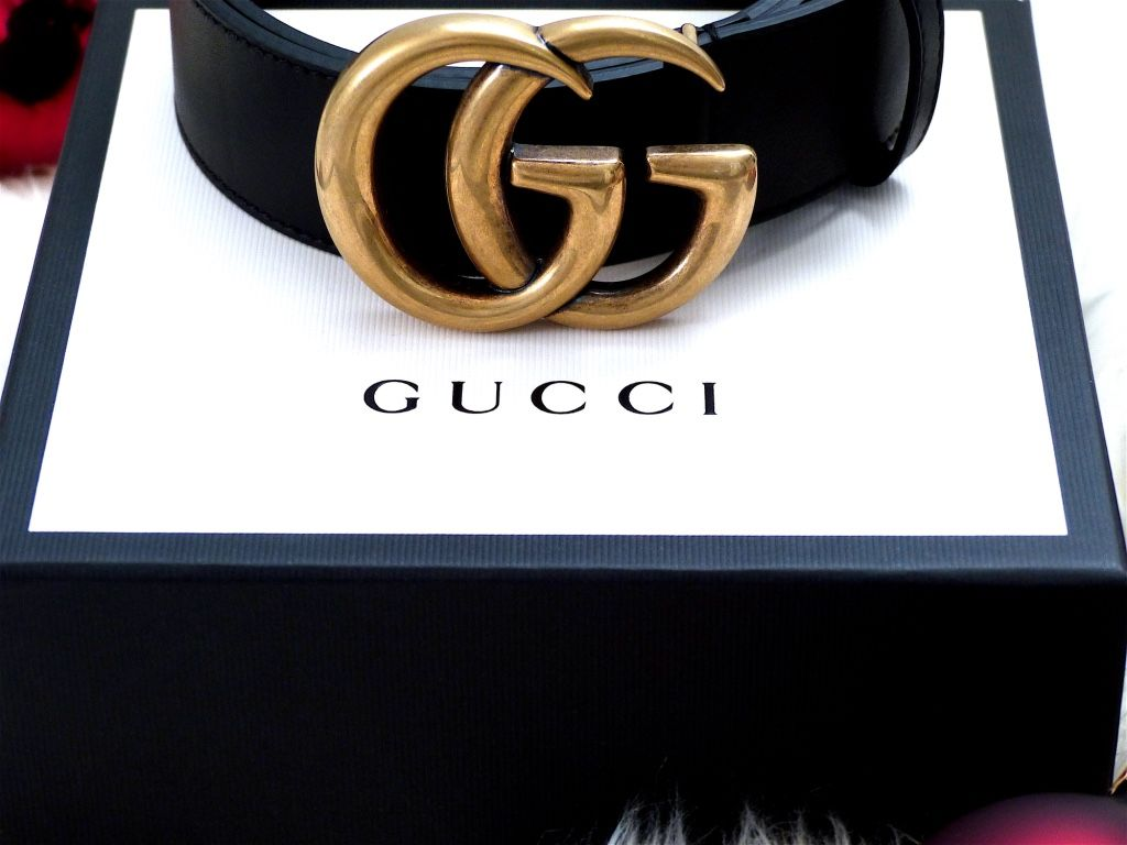 0206870a2778 Christmas came early this year - GUCCI unboxing | Lee Purcell's ...