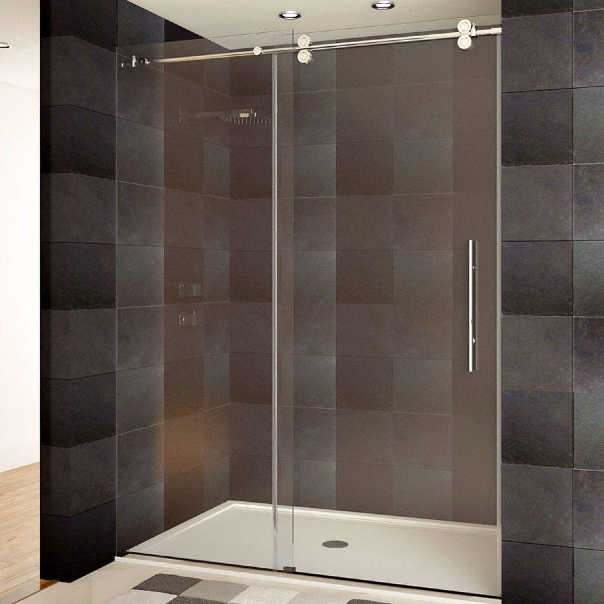 Ultra D 48 X 79 Shower Door Chrome Finish Shower Doors