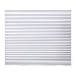 SCHOTTIS, Pleated shade, white | Pleated blind, Pleated