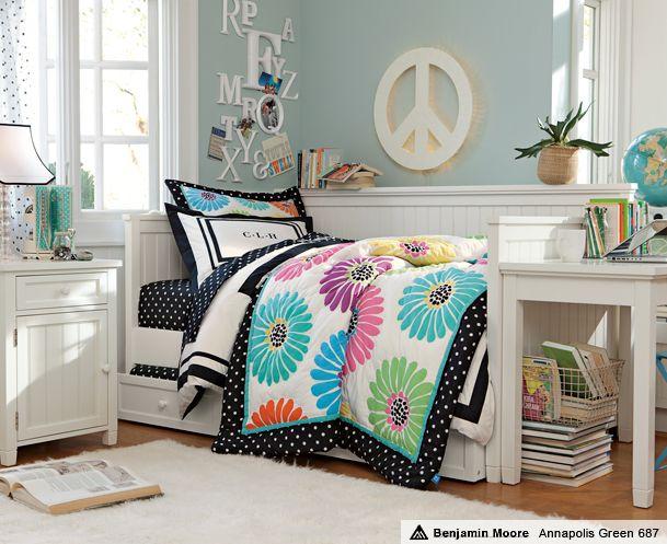 Rowan Would Love The Peace Sign Tween Girl Bedroom