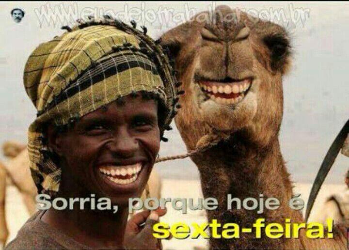 Bom Dia, Porque Hoje é Sexta Feira, Sorria! 😉