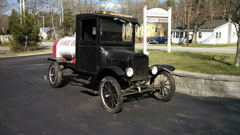 Early Oil Delivery Truck Ford Model T C1920 Located Two Miles