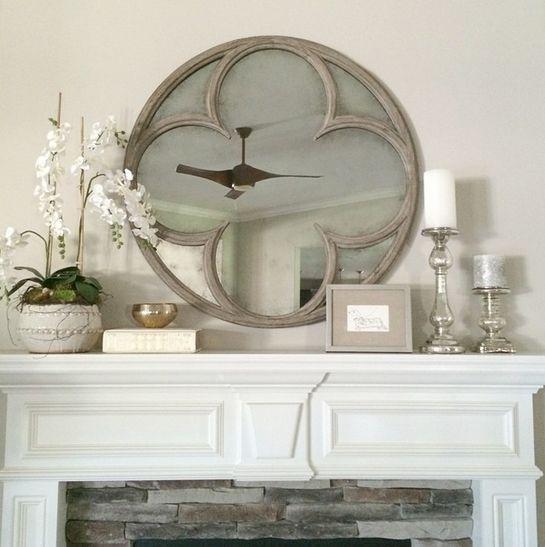 Restoration Hardware Quatrefoil Mirror. For The Living