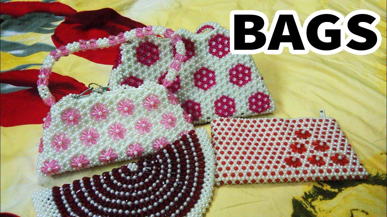 How To Hand Make Putir Bag Design / New Design | Beadwork ...